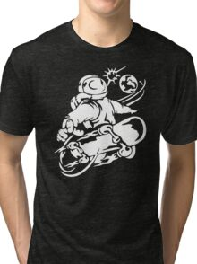 Space Boarding Tri-blend T-Shirt