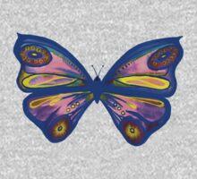 Watercolour Butterfly 1 (Purple) Baby Tee