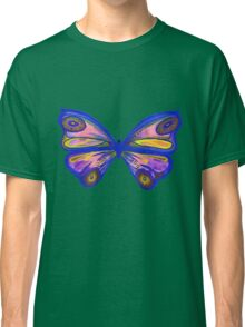 Watercolour Butterfly 1 (Purple) Classic T-Shirt