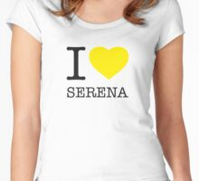 I ♥ SERENA Women's Fitted Scoop T-Shirt
