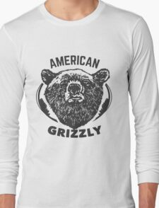 American Grizzly Long Sleeve T-Shirt