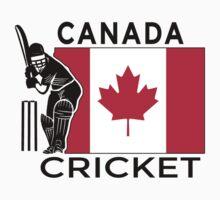 Canada Cricket Baby Tee