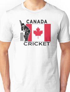 Canada Cricket Unisex T-Shirt