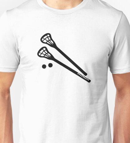 Lacrosse sticks ball Unisex T-Shirt