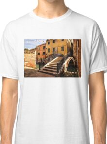 Impressions of Venice - Wandering Around Backstreets and Small Canals Classic T-Shirt