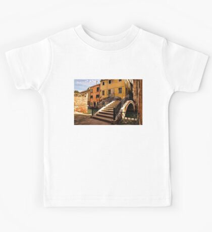 Impressions of Venice - Wandering Around Backstreets and Small Canals Kids Tee