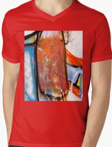 Abtag - slab Mens V-Neck T-Shirt