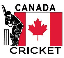 Canada Cricket Photographic Print