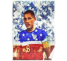 Clint Dempsey 2014 World Cup Poster