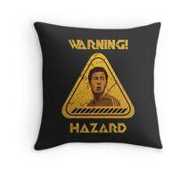 Chelsea Warning Hazard Throw Pillow