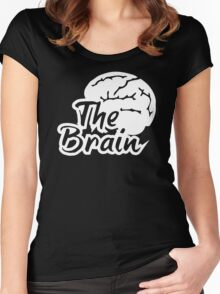 The Brain Women's Fitted Scoop T-Shirt