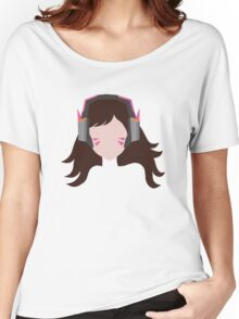 Minimalist D.Va Women's Relaxed Fit T-Shirt