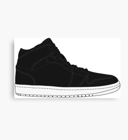 "Air Jordan I (1) ""Cyber Monday"" Canvas Print"