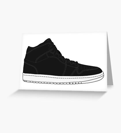 "Air Jordan I (1) ""Cyber Monday"" Greeting Card"
