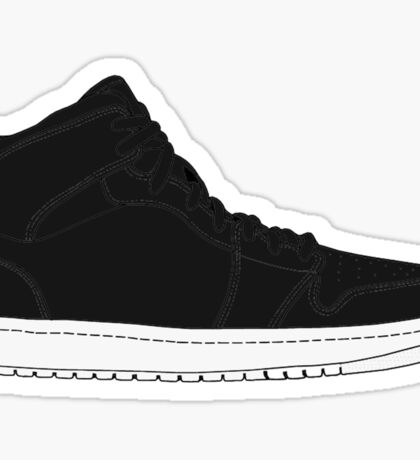 "Air Jordan I (1) ""Cyber Monday"" Sticker"