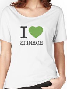 I ♥ SPINACH Women's Relaxed Fit T-Shirt