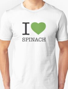 I ♥ SPINACH Unisex T-Shirt