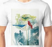 Flock of birds. Unisex T-Shirt