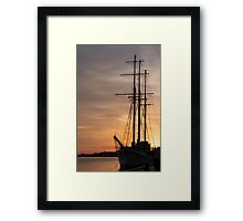 The Beautiful Empire Sandy at Sunset Framed Print