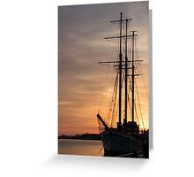 The Beautiful Empire Sandy at Sunset Greeting Card