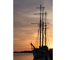 The Beautiful Empire Sandy at Sunset Photographic Print