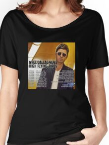 Noel Gallagher's High Flying Birds Tour Dates 2016 Women's Relaxed Fit T-Shirt