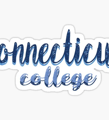 Connecticut College Sticker