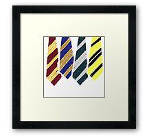 House ties Framed Print