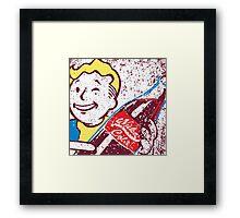 Radioactive Cola Framed Print