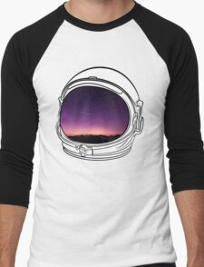 Sunset on the Moon Men's Baseball ¾ T-Shirt