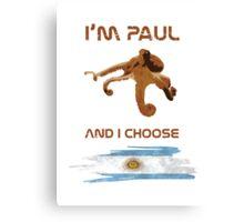 Paul - Argentina! Canvas Print
