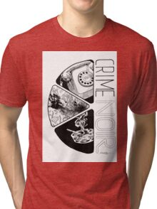 Crime Noir Tri-blend T-Shirt