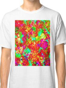 """ABSTRACT FLOWER GARDEN"" Painting Print Classic T-Shirt"
