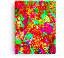 """""""ABSTRACT FLOWER GARDEN"""" Painting Print Canvas Print"""