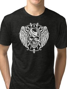 Winged Skull Tri-blend T-Shirt