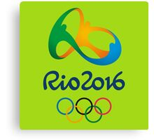 rio olympic 2016 Canvas Print