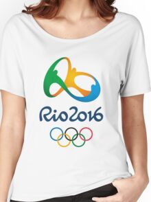 rio olympic 2016 Women's Relaxed Fit T-Shirt