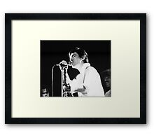 Chris Spedding, 1978 Framed Print