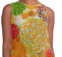Yarn & Quilled Menagerie Contrast Tank