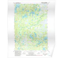 USGS TOPO Map Alaska AK Tyonek C-1 SE 353848 1979 25000 Poster