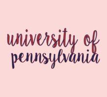 University of Pennsylvania Kids Tee