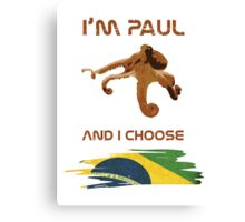 Paul - Brazil! Canvas Print