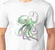 Green Splotchtopus  Unisex T-Shirt