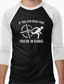 Youre In Range Men's Baseball ¾ T-Shirt
