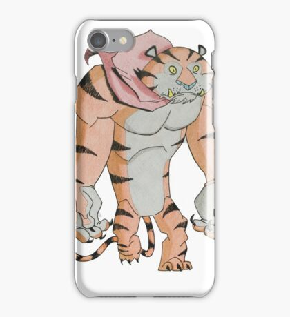 Cereal Monster: Tony the Tiger iPhone Case/Skin