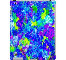 """""""PSYCHEDELIC FLOWER GARDEN"""" Abstract Painting Print iPad Case/Skin"""