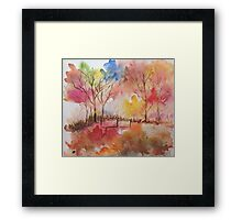 Vivid Colours Get Inspired ! Framed Print