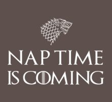 Nap Time is Coming Baby Tee