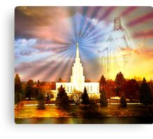Idaho Falls - I Am With You Canvas Print