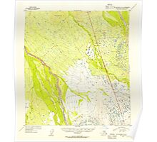 USGS TOPO Map Alaska AK Mount McKinley A-5 357763 1954 63360 Poster